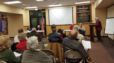 Foundation Updates BJ Town Board