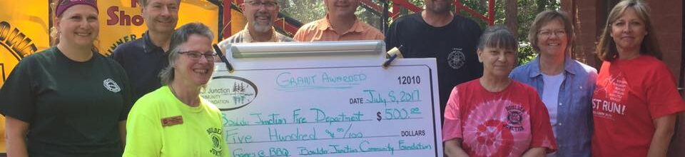 BJ Fire Department Receives Grant