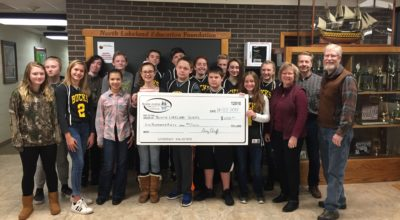 BJCF Helps Fund NLS 8th Grade Class Trip