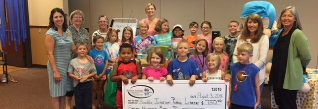 BJCF Awards Grant to the Public Library Summer Reading Program