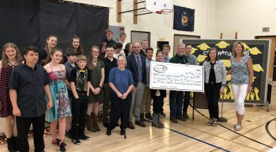 Foundation Helps Fund NLS 8th Grade Class Trip
