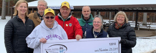 Grant Awarded to Boulder Junction Lions Club
