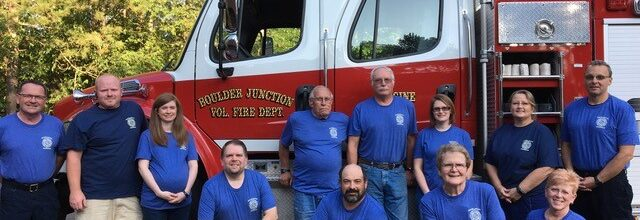 Grant Awarded to Boulder Junction Fire Department